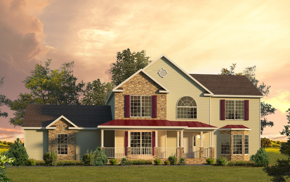 Berkshire two story style modular homes for Berkshire house