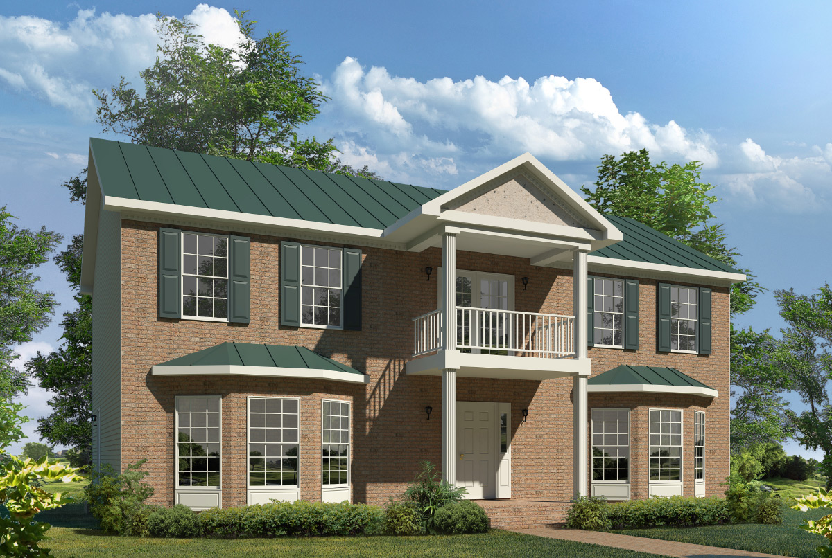 Bridgeport two story style modular homes for New two story homes