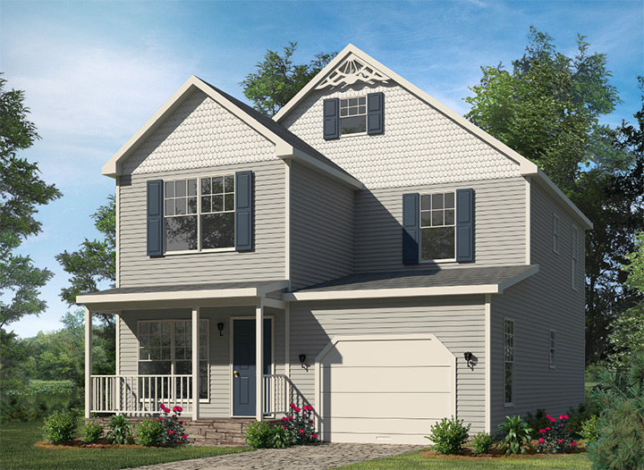 Brighton two story style modular homes for One story modular homes