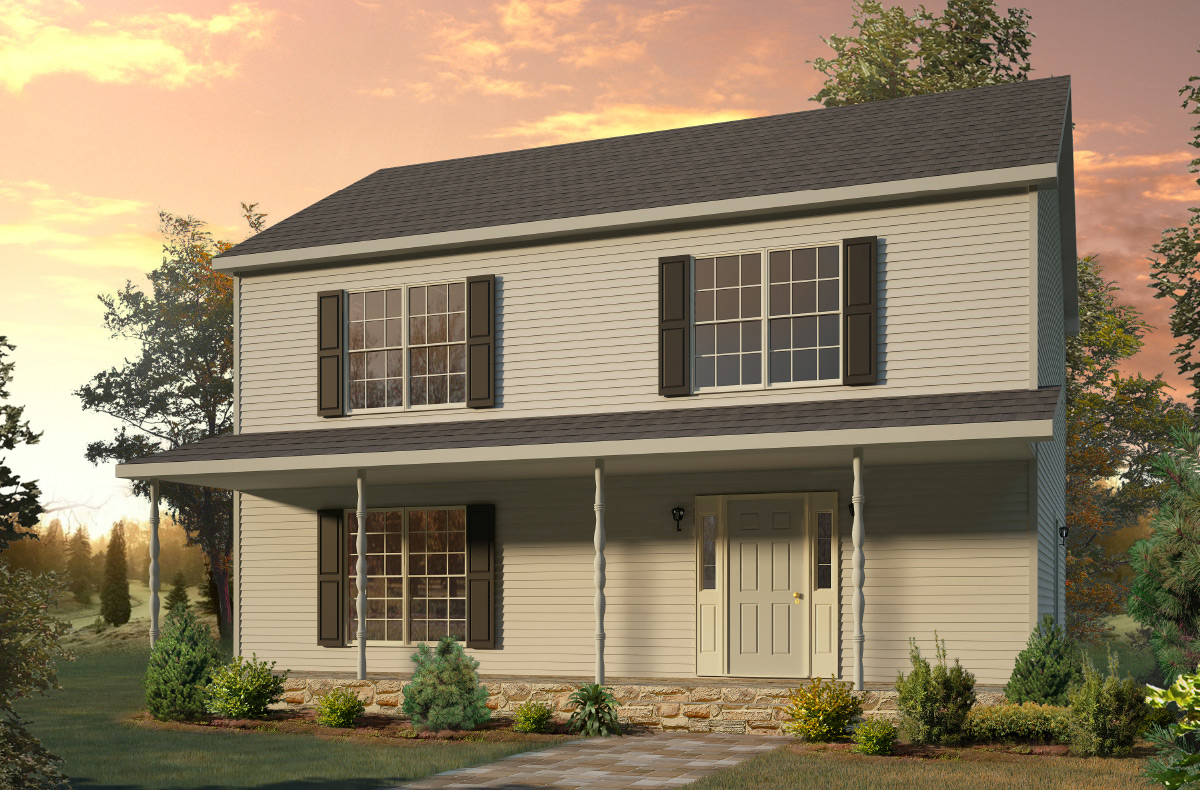 Chesapeake two story style modular homes