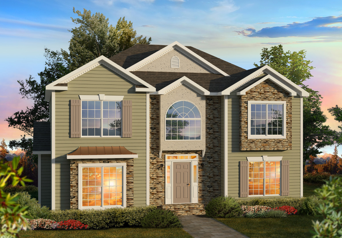 Covington Two Story Style Modular Homes