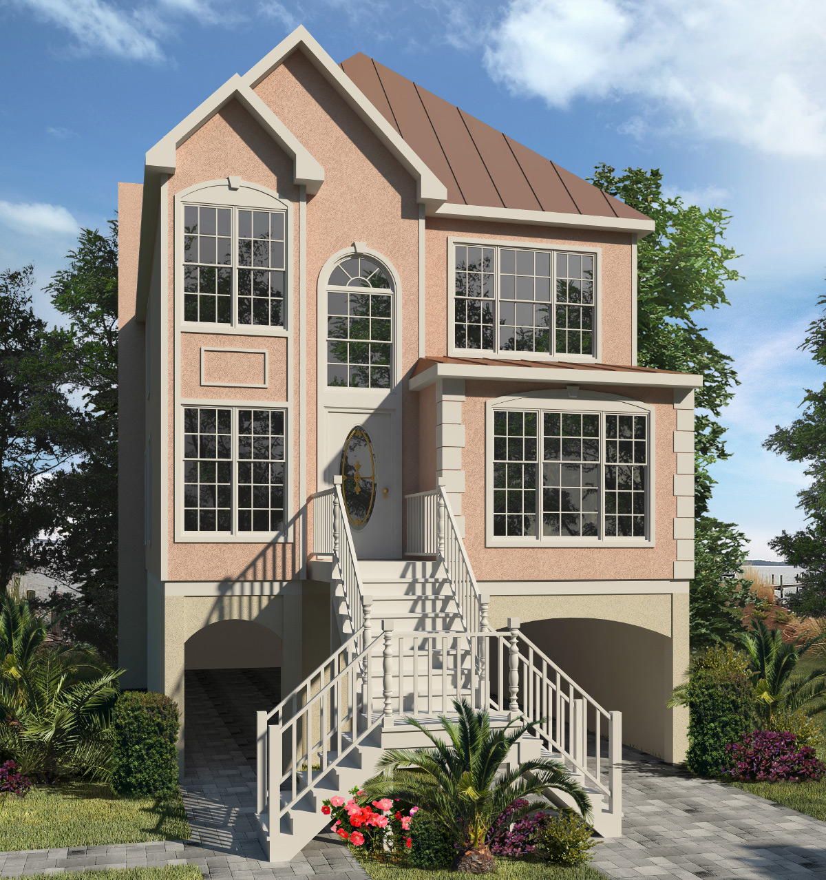 Delaware Two Story Style Modular Homes