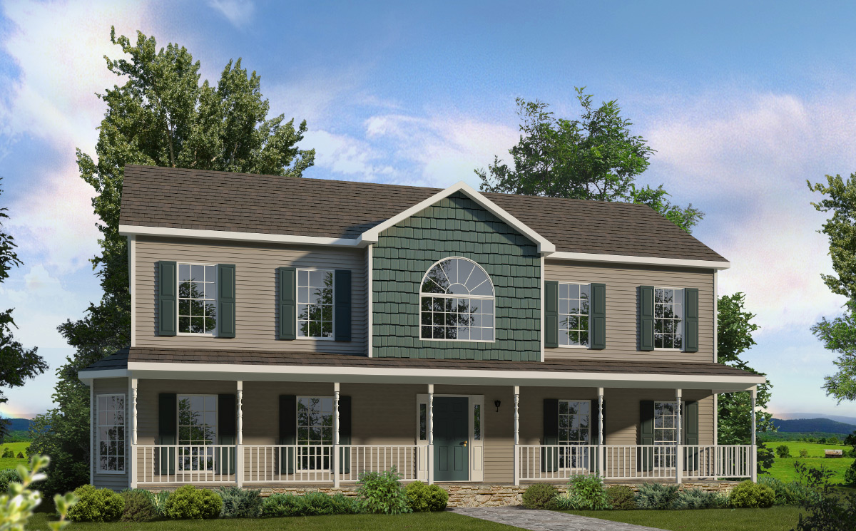 Kensington two story style modular homes for New two story homes