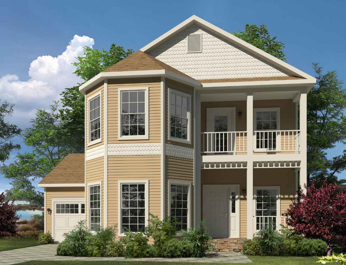 Mckenna two story style modular homes for Custom modular homes washington
