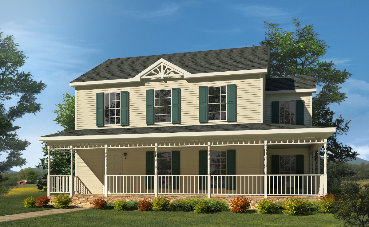 Sagamore two story style modular homes for New two story homes