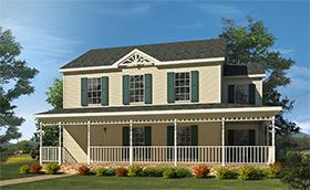 Colonial And Two Story Modular Homes