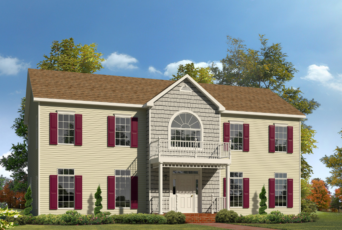 Sierra Two Story Style Modular Homes