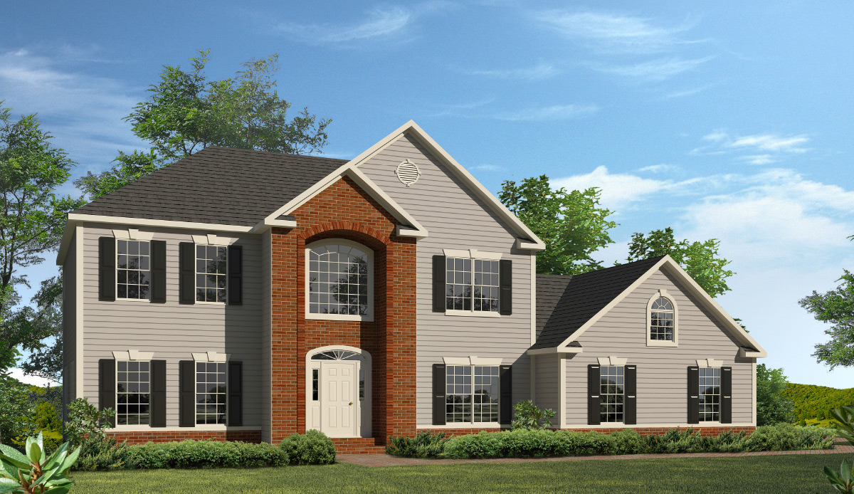 Springfield - Two Story Style Modular Homes