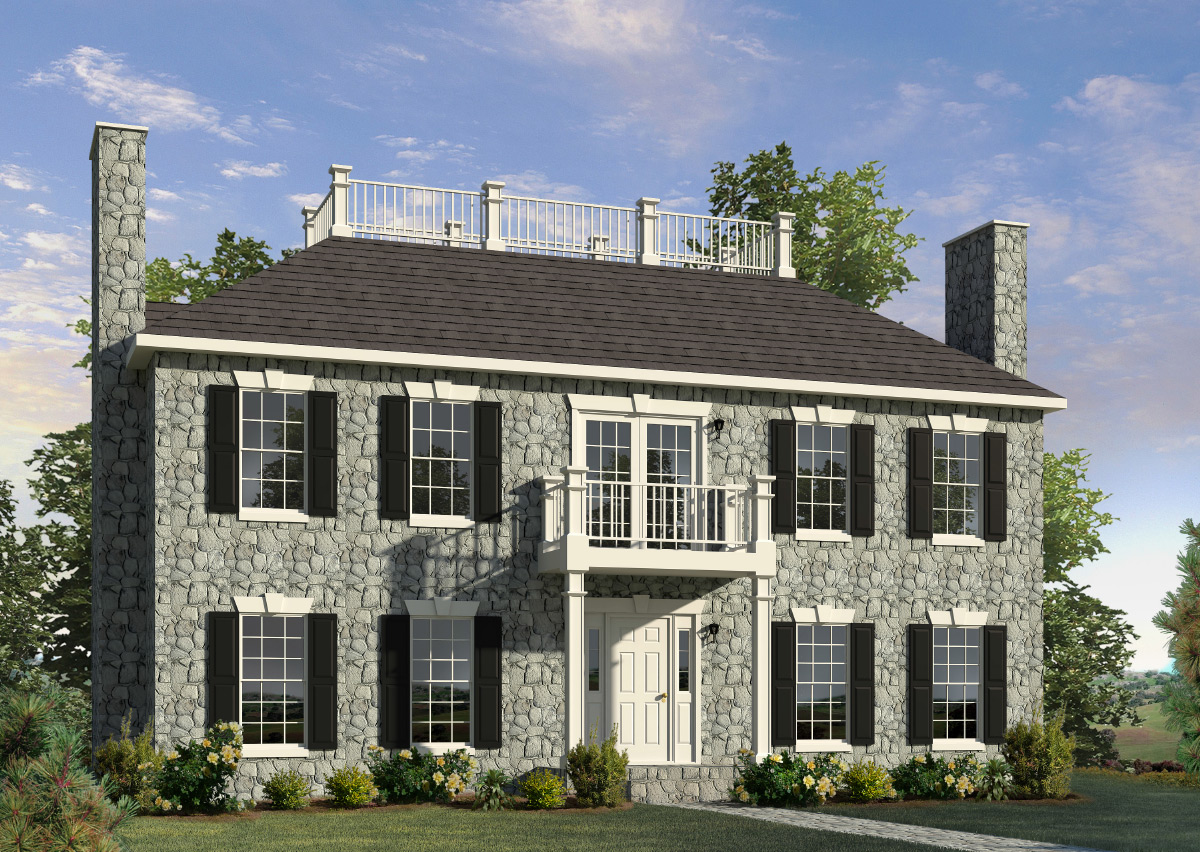Stonefield two story style modular homes for 2 story homes