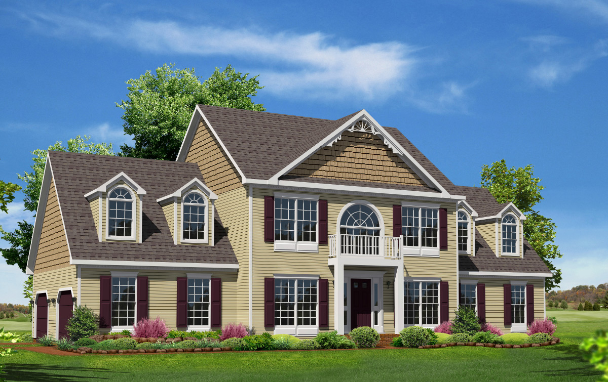 Westmoreland two story style modular homes for House plans for two story homes