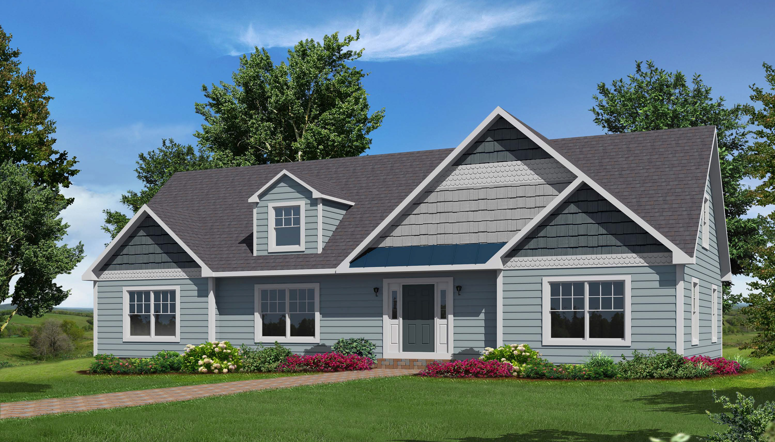 nantucket cape style modular homes