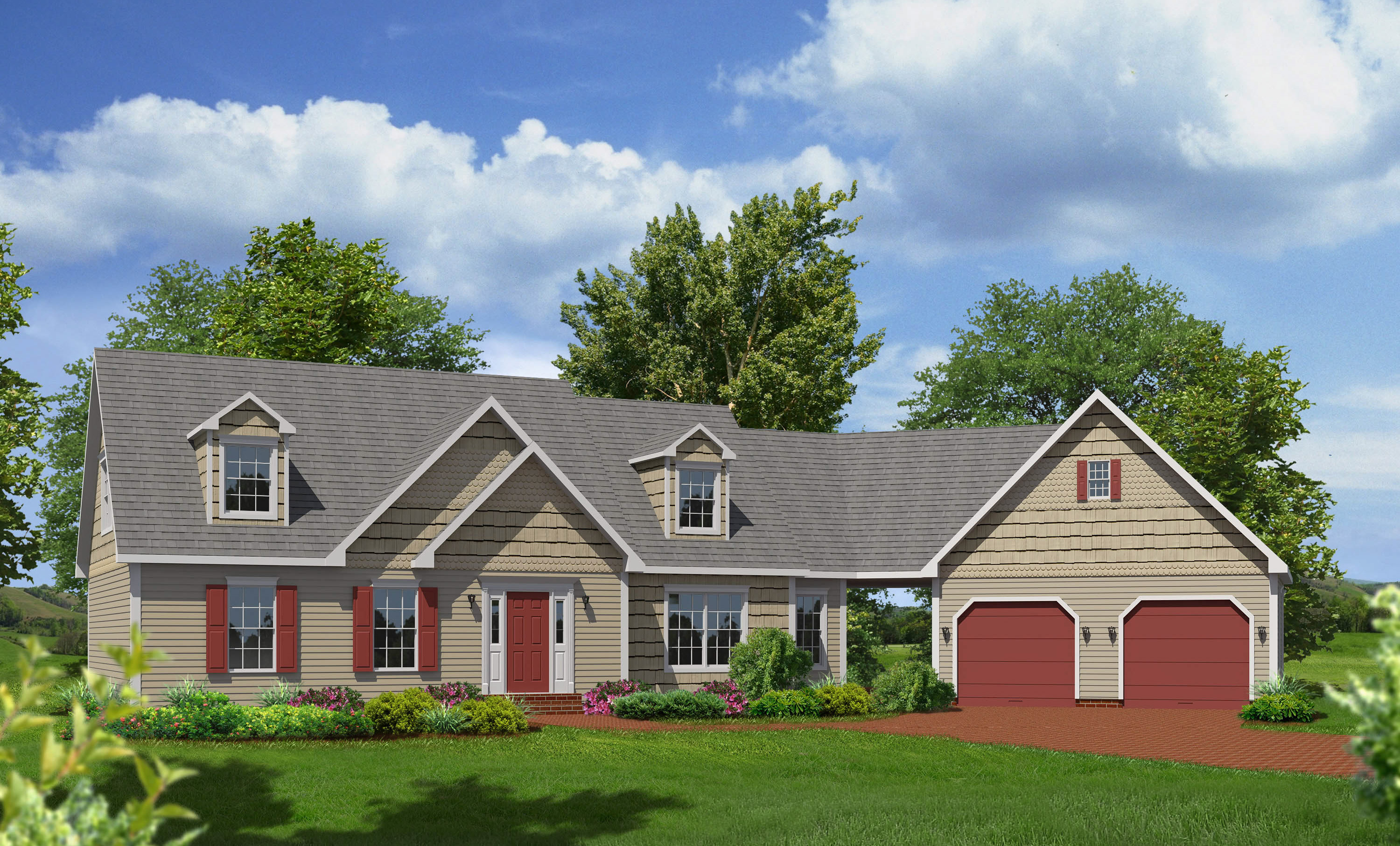 Rockport cape style modular homes for Cape style modular homes