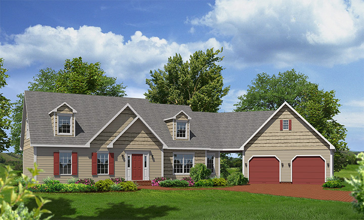 Rockport Cape Style Modular Homes