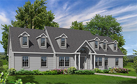 Cape style modular homes for Westport homes ranch floor plans