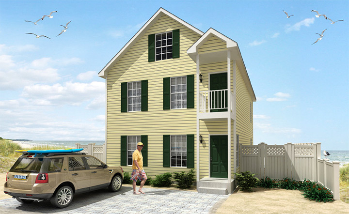 Bloomfield duplex townhouse style modular homes for Modular duplexes