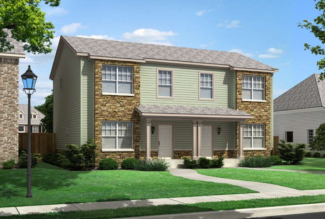 Bridgeport Duplex Townhouse Style Modular Homes