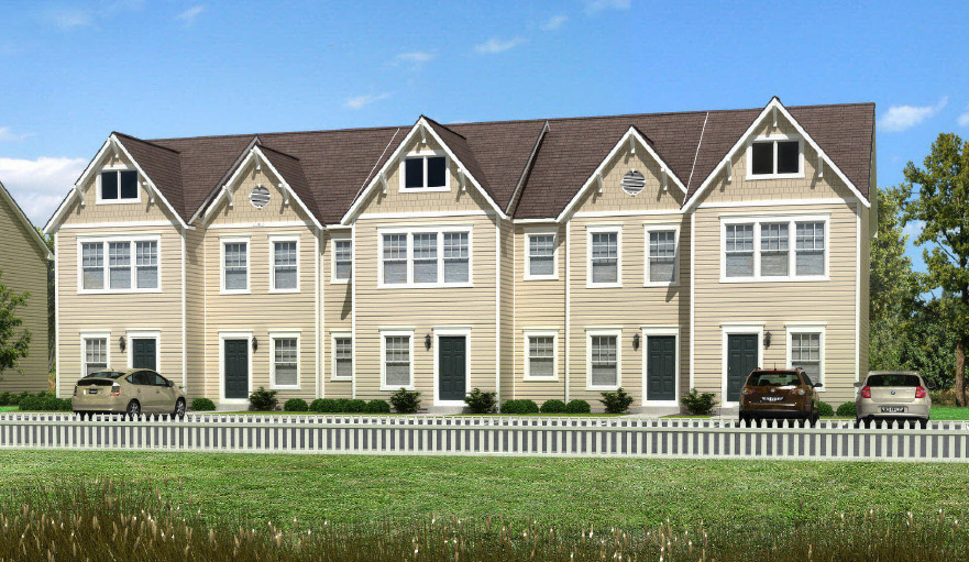Crownsville Duplex Townhouse Style Modular Homes