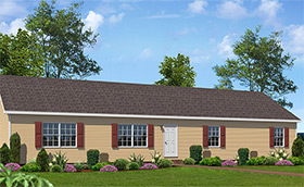 Modular home south hill modular homes for Custom ranch home builders maryland