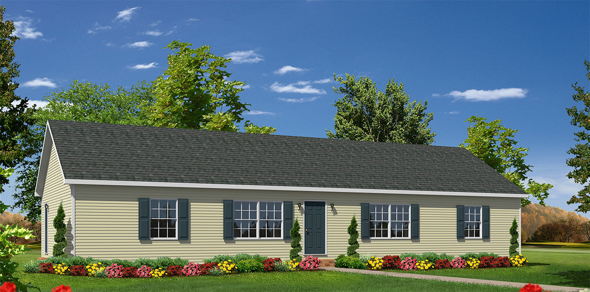 Orchard Hill Ranch Style Modular Homes