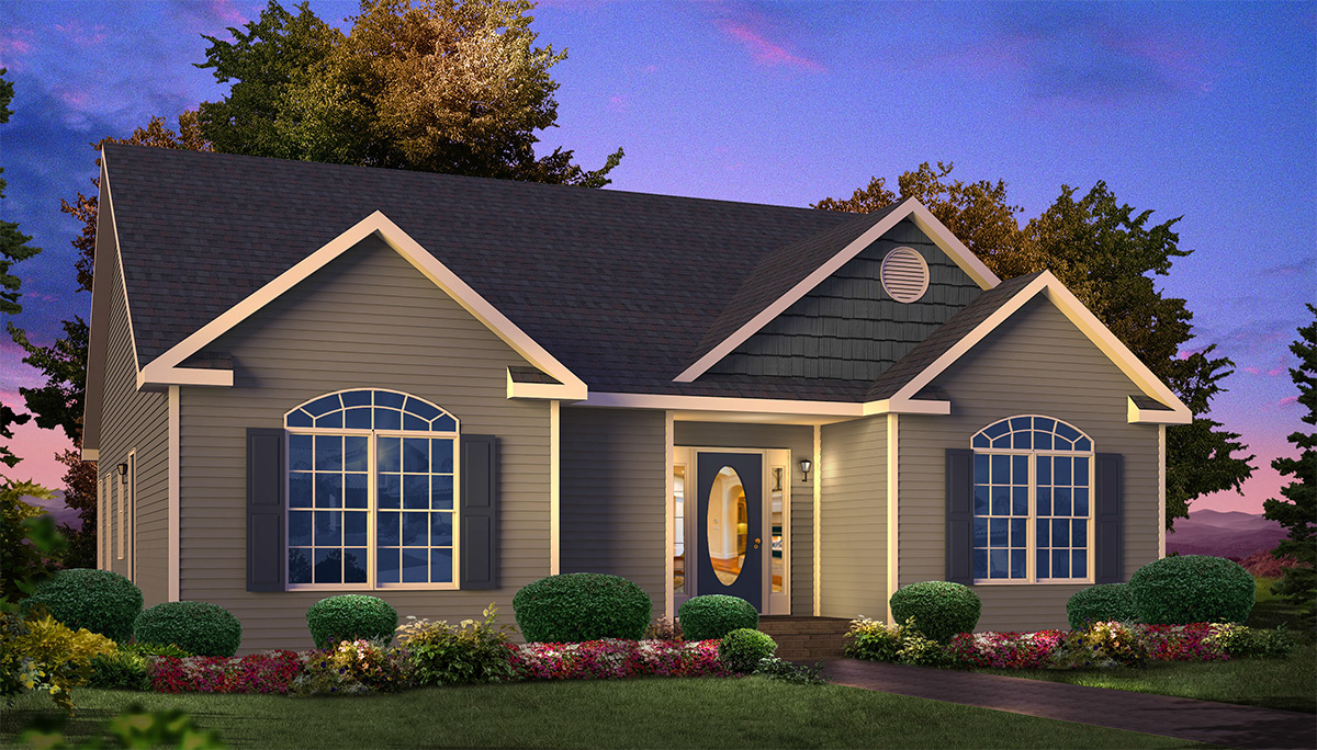 Spring Grove Ranch Style Modular Homes
