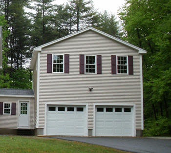Two Story Style Garages From Gbi Avis