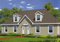 Cape Style Modular Homes available in MA, CT, NH, RI