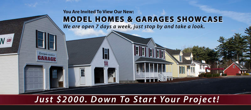 Gbi avis modular homes in ma ct nh ri and new houses in for Modular garage addition