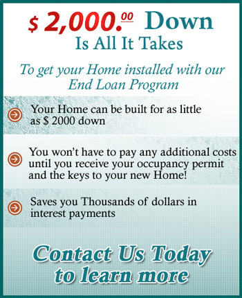 Financing your new home